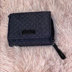 Vera Bradley navy wallet